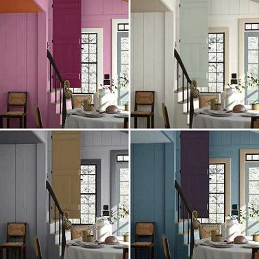 Decorar mi casa el color de las paredes vivir en totana for Color paredes casa