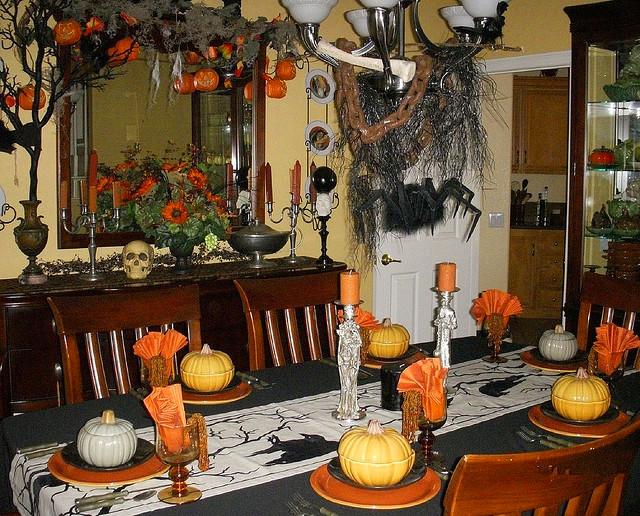Decoraci n casera para halloween vivir en totana - Decoracion de halloween para casas ...