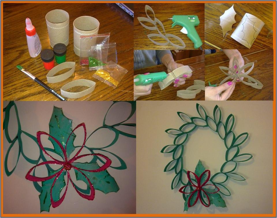 Decoraci n navide a con materiales reciclados vivir en for Cosas para hacer de navidad faciles